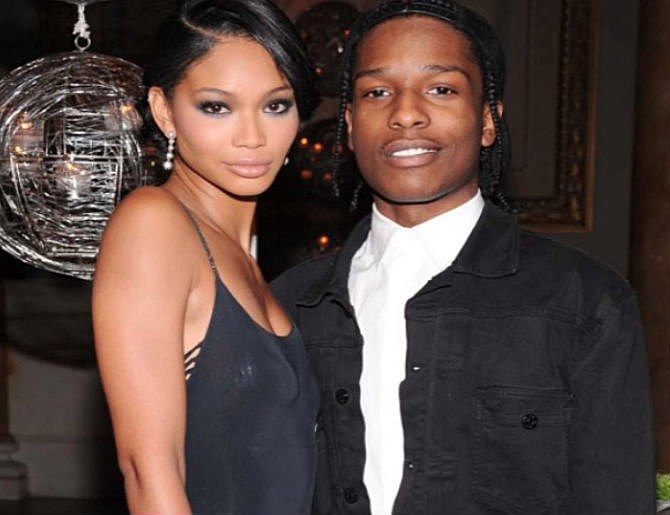 A$AP Rocky And Chanel Iman Have Reportedly Called It Quits ...