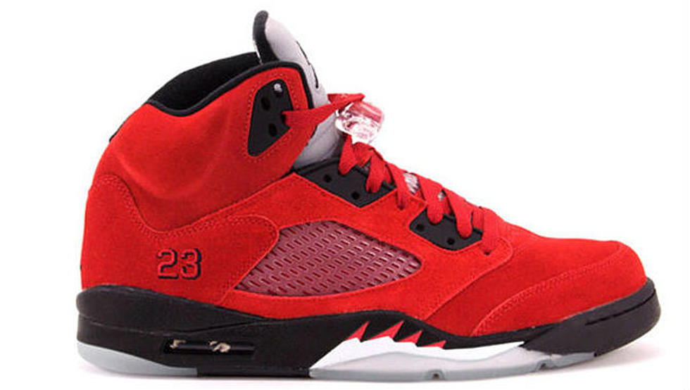 """... 5 Retro 2014 Limited Style White Red 3iXGhqSt  Air Jordan V """"Toro"""" Set  To Reportedly Drop In 2015  2014 Nike ... e49f21cb6"""