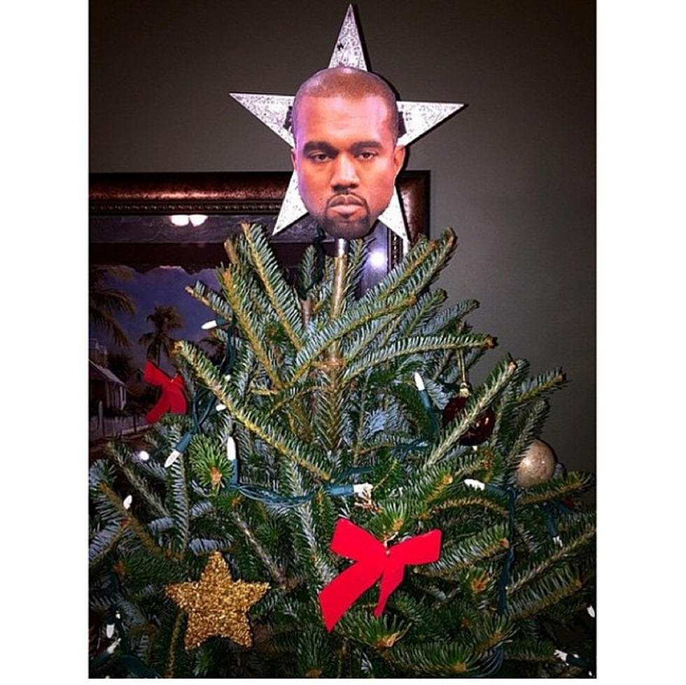 Kanye West Has Become A Christmas Tree Topper - XXL