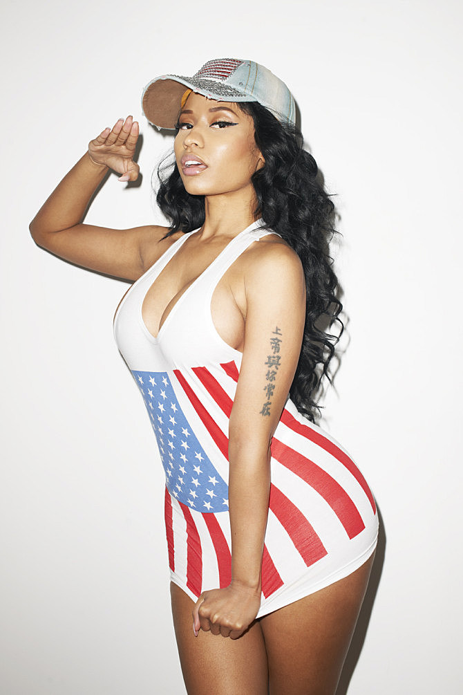 terry richardson takes super hot pics of nicki minaj   xxl