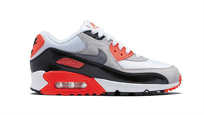 ... one of the most classic silhouettes in nikes archives remains the air  max 90 infrared the