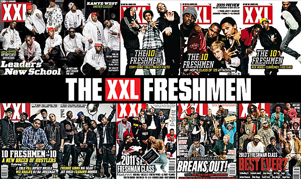 Every XXL Freshman Cover Over the Years - XXL Xxl Magazine 2014 Freshman