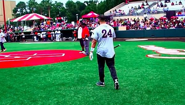 Watch Drake and Hannibal Buress Play Softball During Houston Appreciation Week - XXL