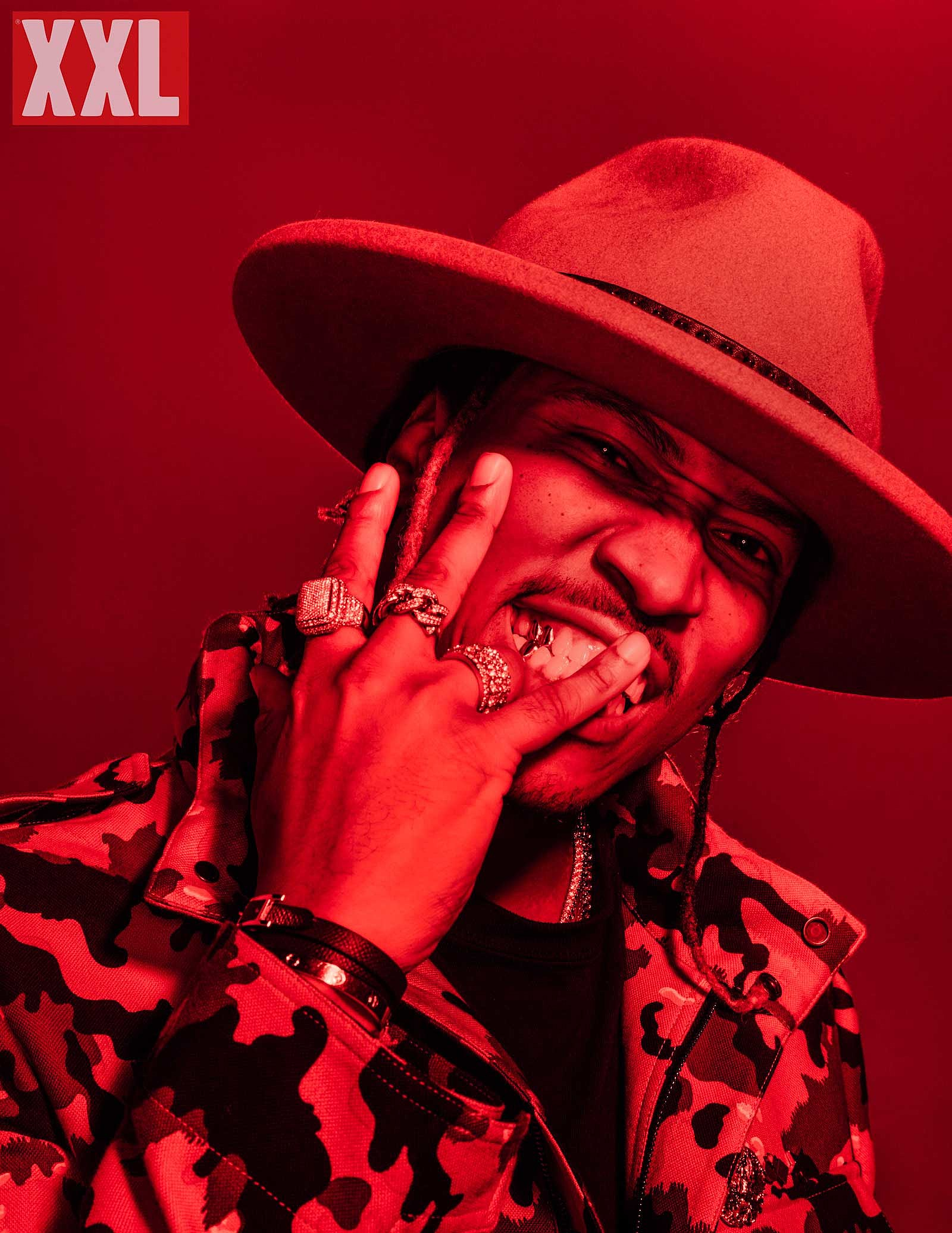 Behind-The-Scenes Future's XXL Cover Shoot rings