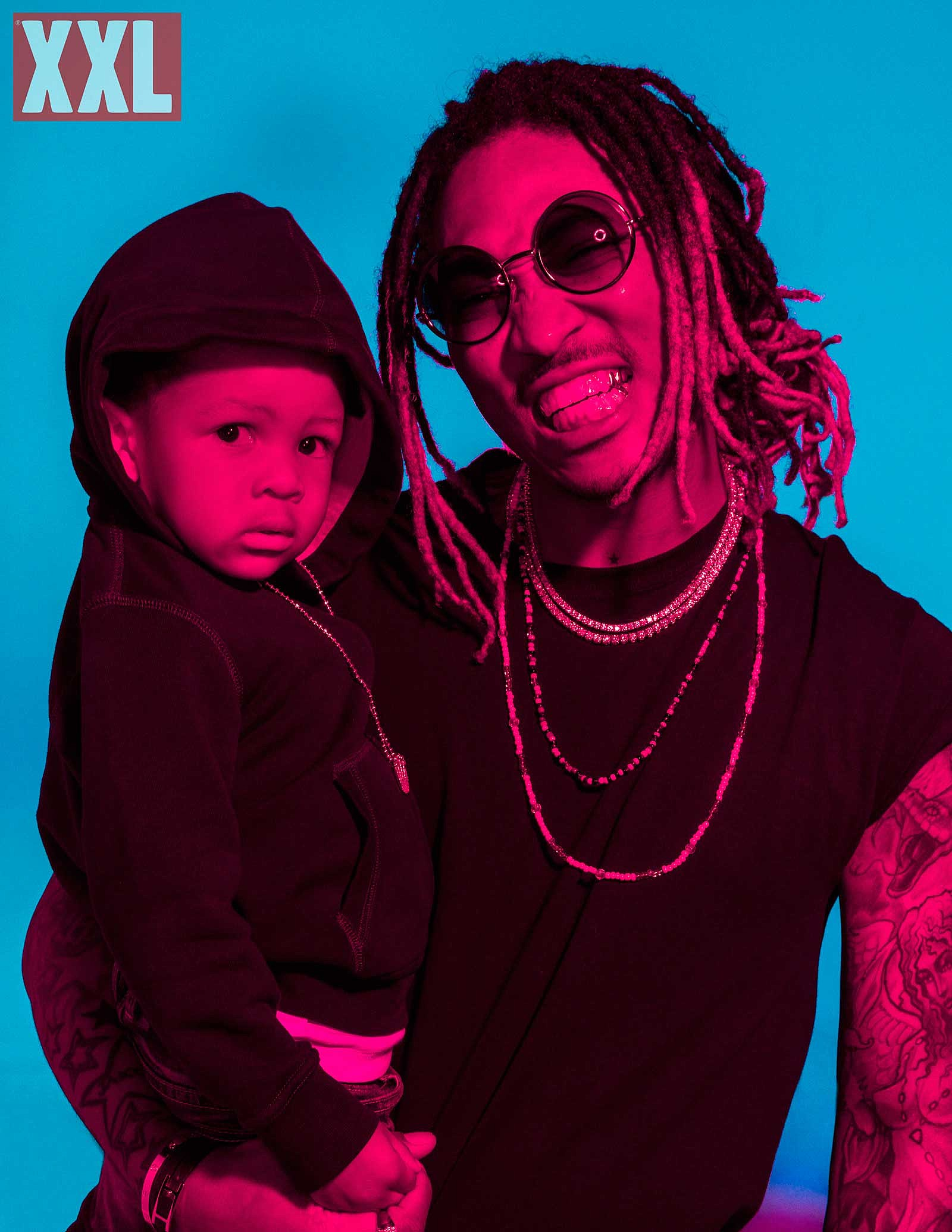 prince Behind-The-Scenes Future's XXL Cover Shoot
