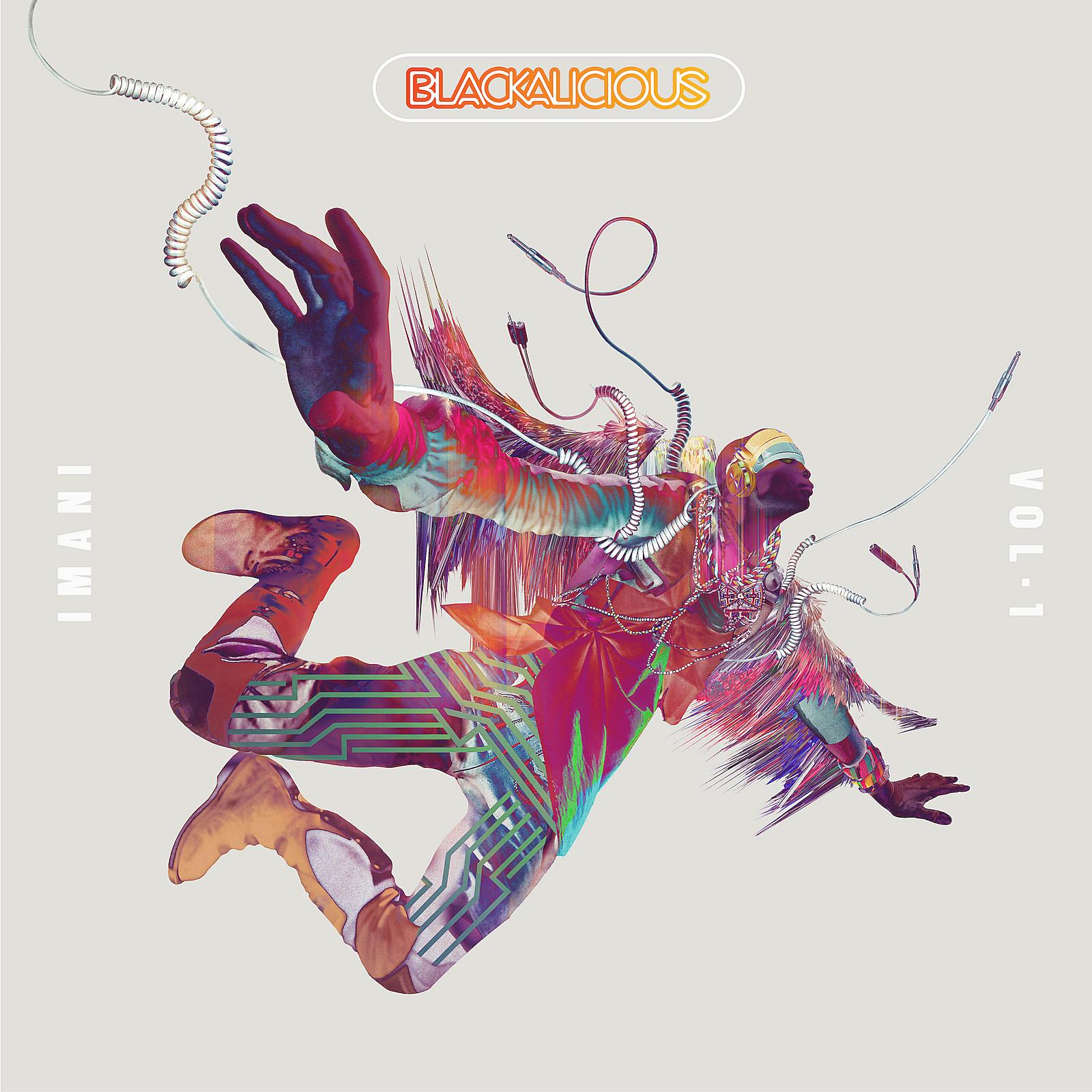 blackalicious gift of gab chief xcel imani vol. 1 album cover art