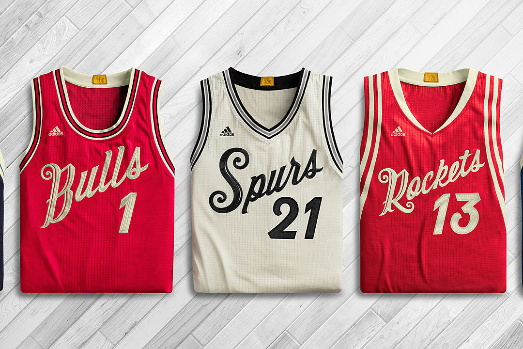 Stance and the nba unveil uniforms for 2015 nba christmas day games