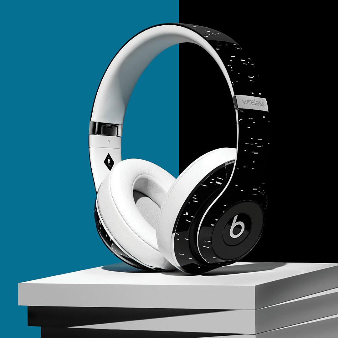 beats by dre x pigalle studio wireless headphone xxl. Black Bedroom Furniture Sets. Home Design Ideas