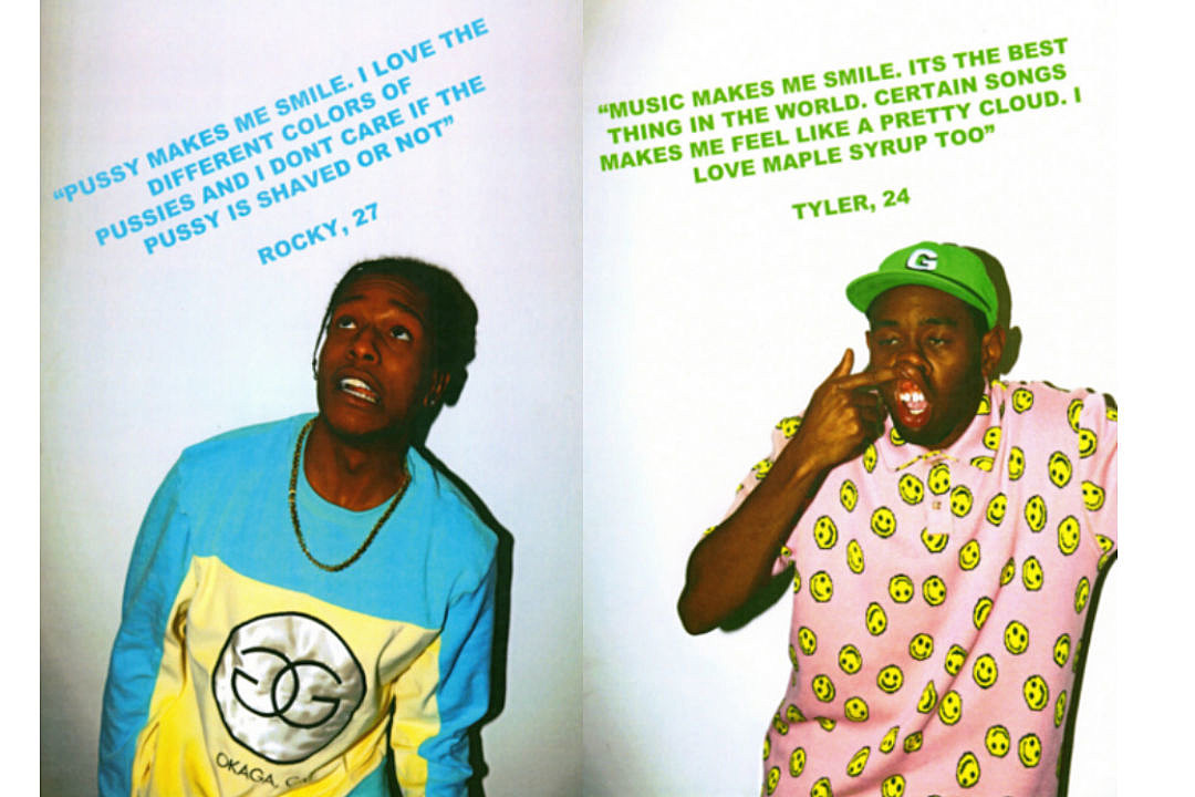 Golf Wang Releases What Makes You Smile Lookbook Featuring AAP Rocky