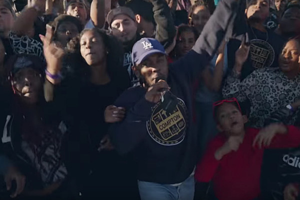 Lamar Performs  quot Alright quot  in Compton for Grammys Commercial - XXL