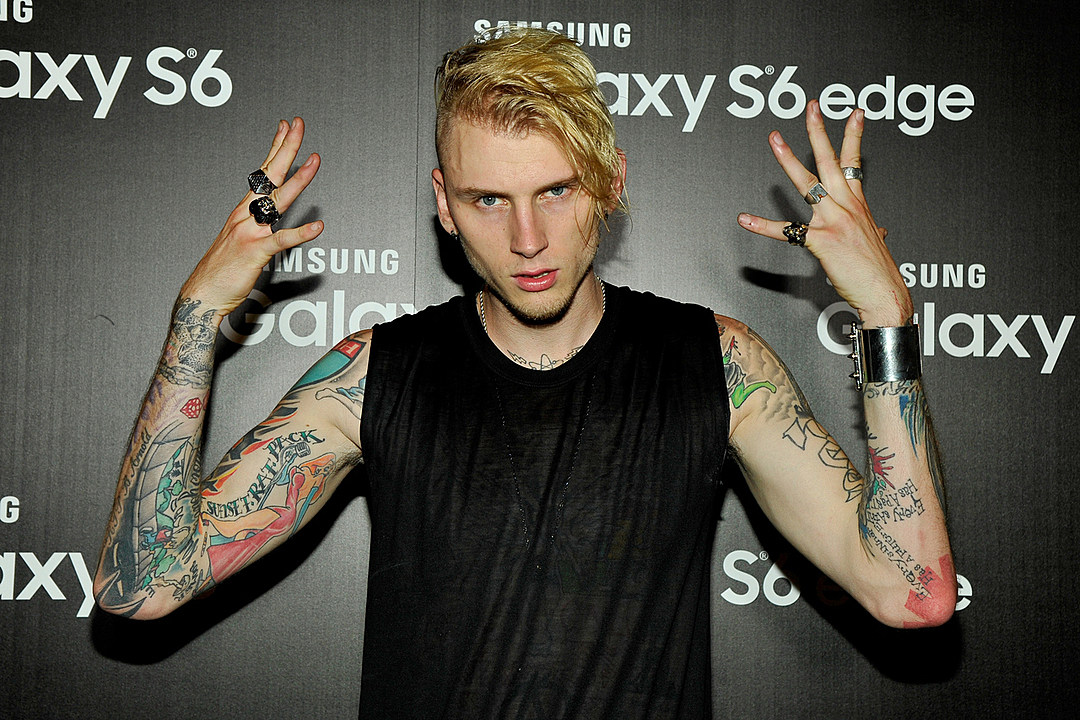 Machine Gun Kelly Recovering From Emergency Elbow Surgery