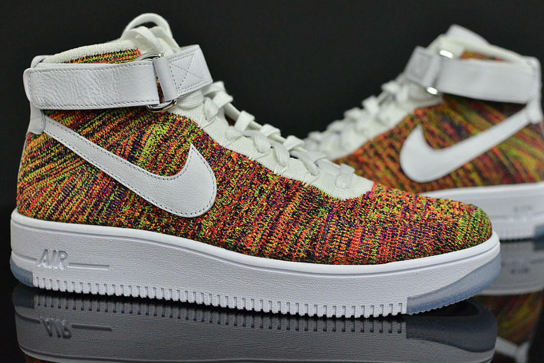 nike air force 1 fly knit
