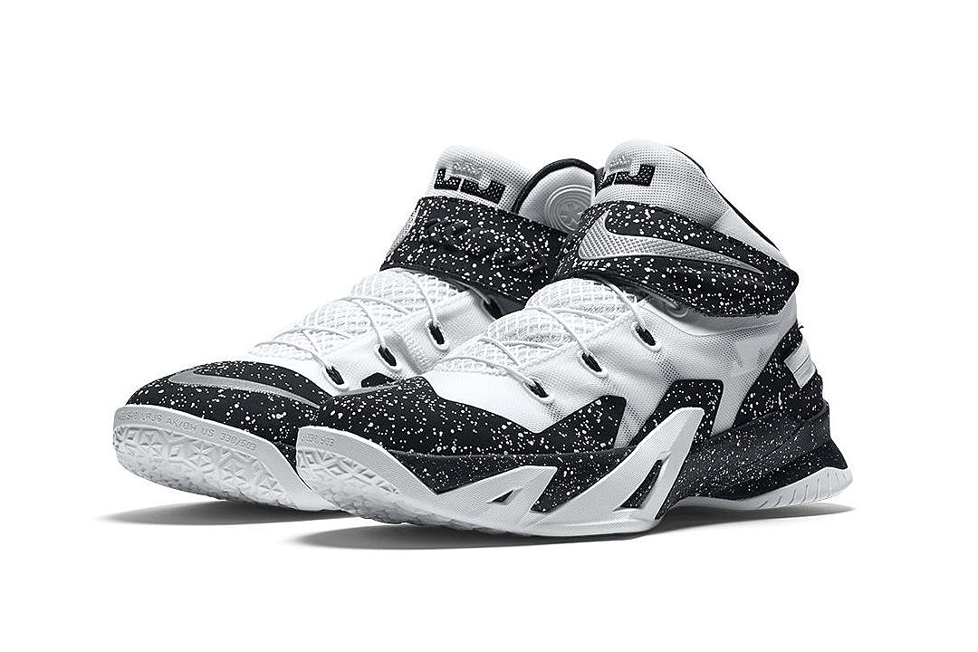 Nike Boys Kids Shoes Lebron Soilders