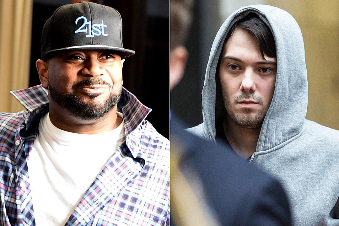 Martin Shkreli sued by artist over Wu-Tang Clan album