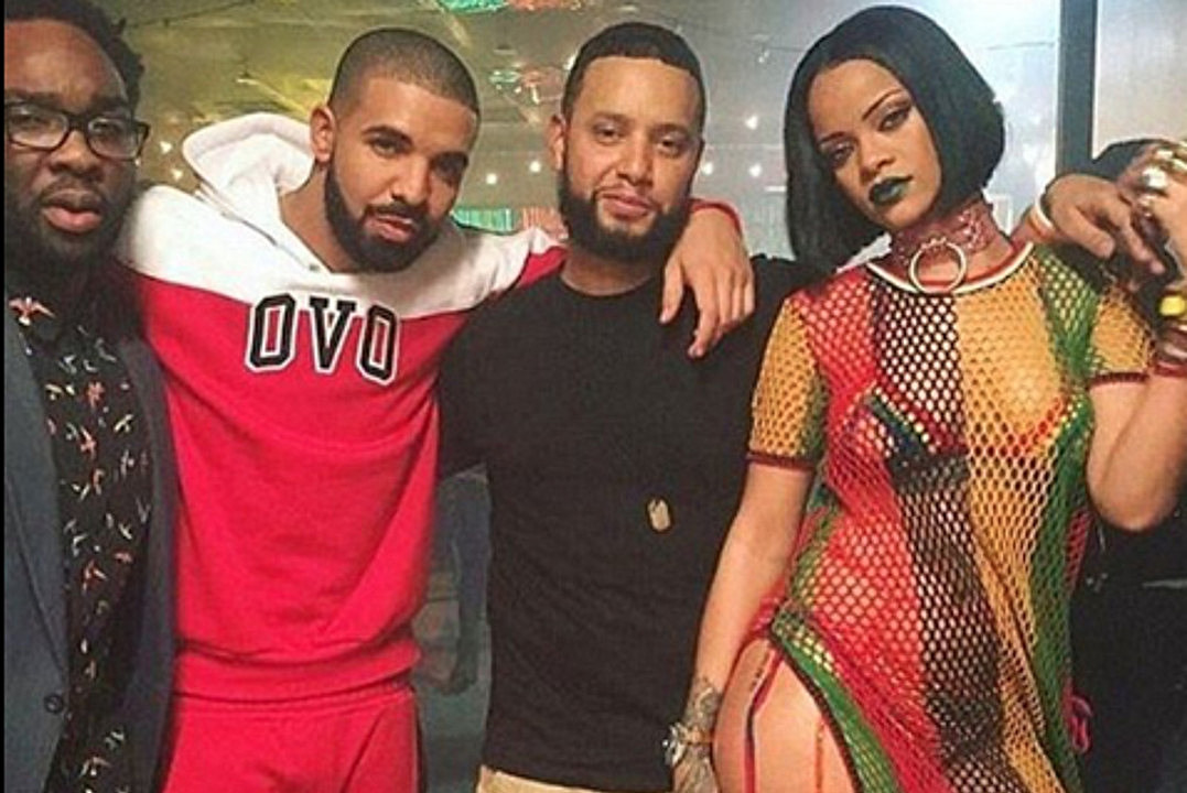 "Rihanna and Drake Shoot ""Work"" Video With Director X"
