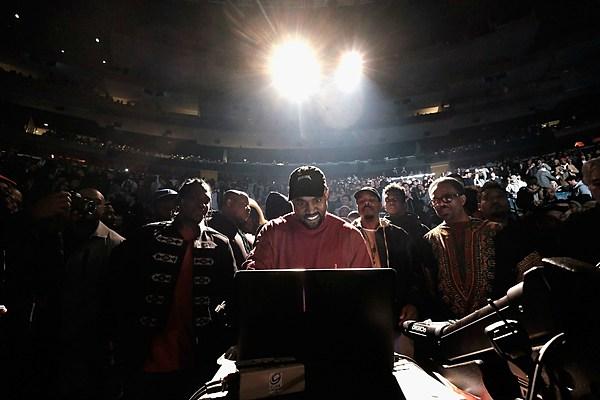 Kanye West Drops