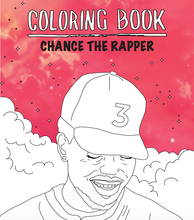 chance the rapper  39 s   39 coloring book  39  gets actual coloring book treatment xxl Chance the Rapper Coloring Book  Coloring Book Chance Lyrics