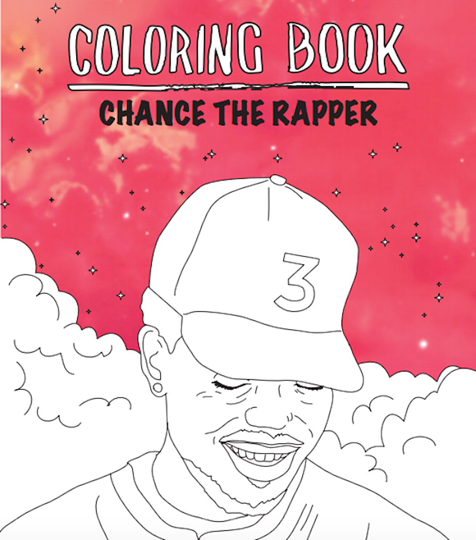 Chance The Rappers Coloring Book Gets Actual Treatment
