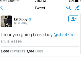 Lil Bibby S Twitter Gets Hacked By Trolls Who Leak His Phone