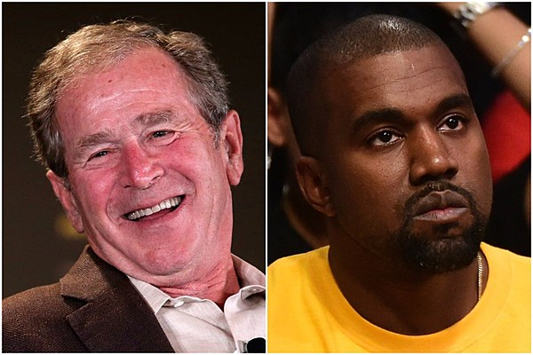 George Bush Confirms He's Not In Kanye West's