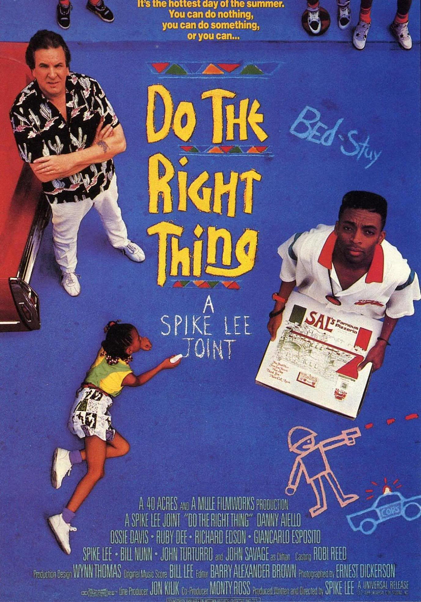 an analysis of the racism in the movie do the right thing directed by spike lee 90% of spike lee's masterpiece do the right thing is a perfectly developed character study of a wide movie had been directed by a white man it would be racist 4.