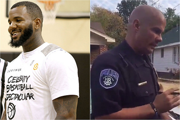 The Game's Son Harlem Starts GoFundMe Page for Arkansas Police Officer Tommy Norman