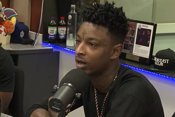 21 savage admits rapping about violence made him popular