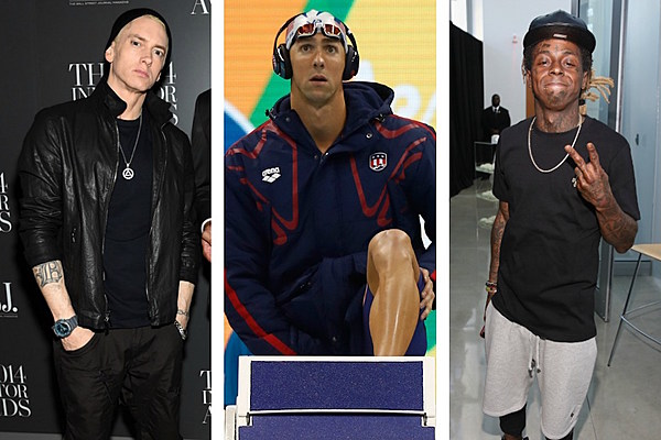 Lil Wayne and Eminem Helped Michael Phelps Win Big at 2016 Olympics - XXL