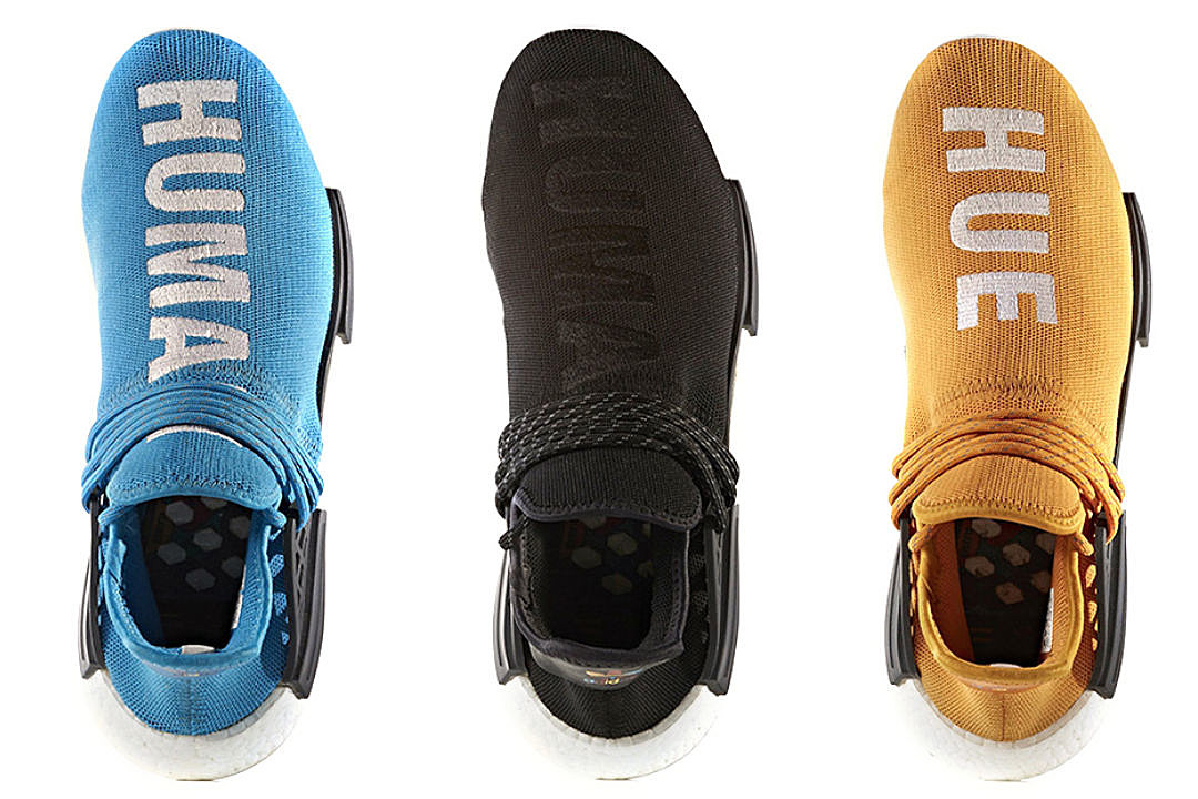 Originals to Release Five New Pharrell Human Race NMD Sneakers  XXL