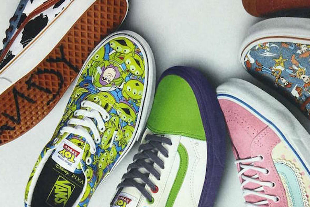 Sneak Peak At The New Toy Story Vans Collection!   Shoes