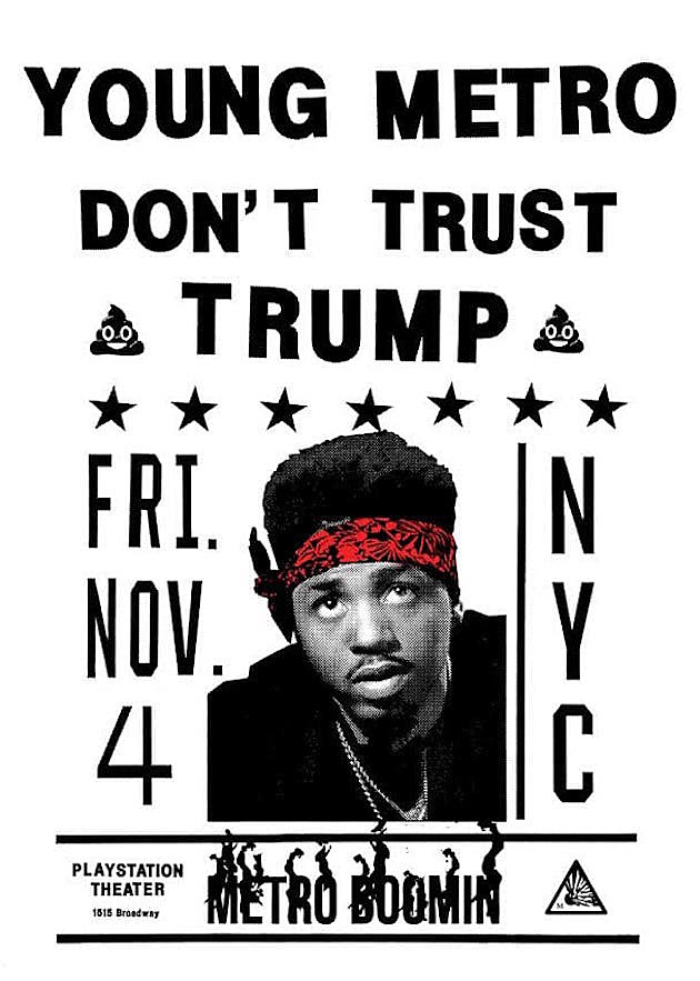 Young Metro Don't Trust Trump