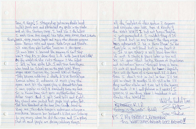 who murdered tupac essay Just about everyone believes orlando anderson murdered tupac so, why wasn't he convicted before he died it was difficult for the las vegas police department.