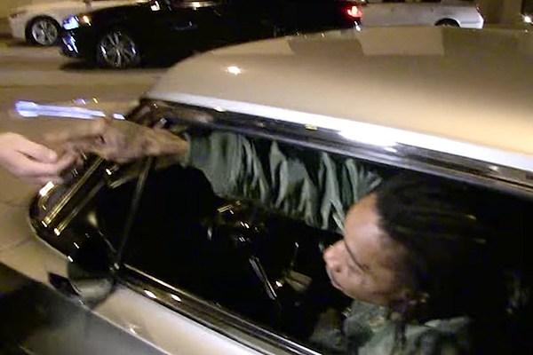 Wiz Khalifa Gives Out Free Weed to Paparazzi - XXL