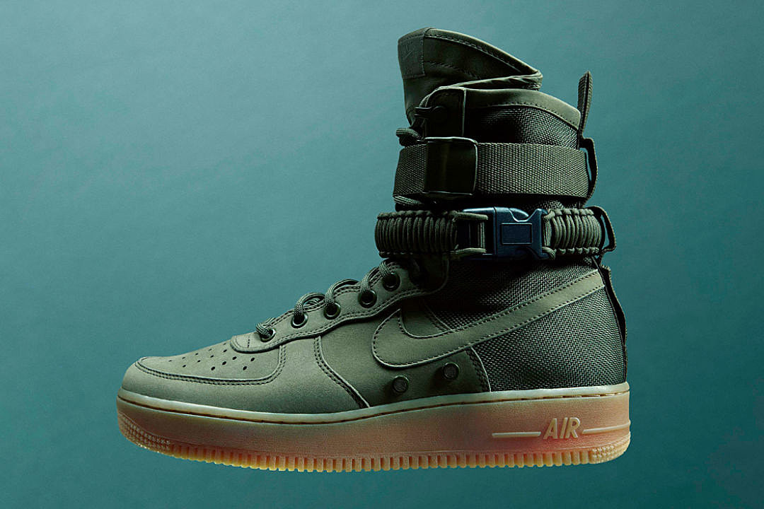 Nike Special Field Air Force 1 'Faded Olive & Gum Light Brown