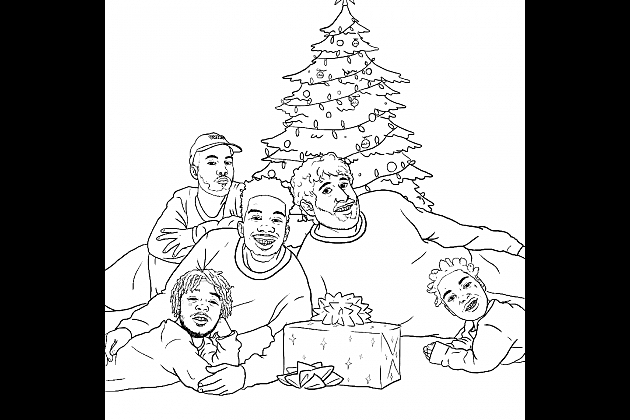 anderson paak desiigner lil dicky lil uzi vert and kodak black - Holiday Coloring Book