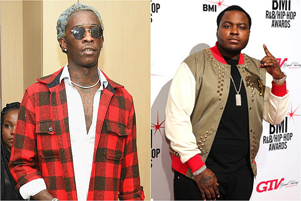 Outstanding Young Thug Warns Sean Kingston To Stay Out Of Soulja Boy And Quavo Short Hairstyles For Black Women Fulllsitofus