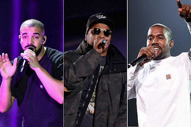 Kanye West Jay Z Drake