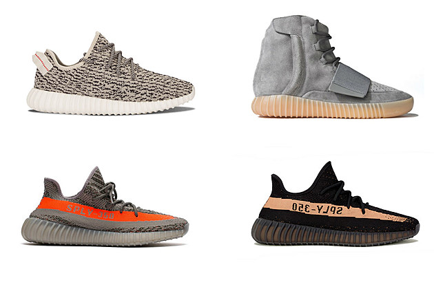 Adidas Yeezy All Colors