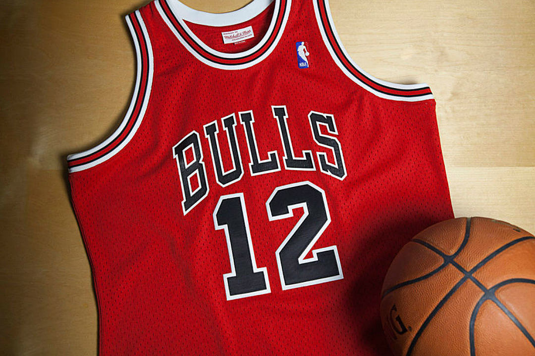 Mitchell Amp Ness Release Rare Michael Jordan No 12 Chicago
