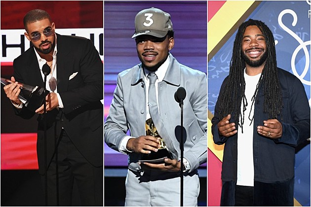 Drake, Chance The Rapper, D.R.A.M. and More Nominated for 2017 iHeartRadio Music Awards