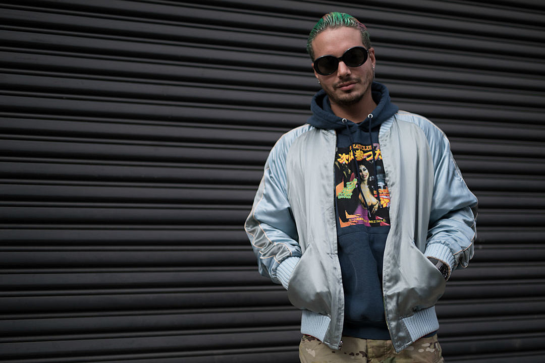 J Balvin: J Balvin's Hip-Hop Connection Includes Life Advice From