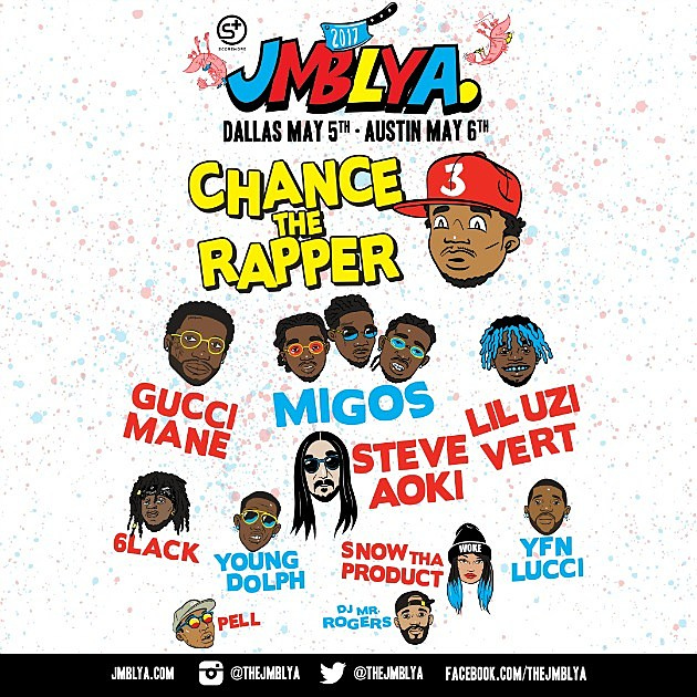 Migos Gucci Mane Chance The Rapper And More To Perform