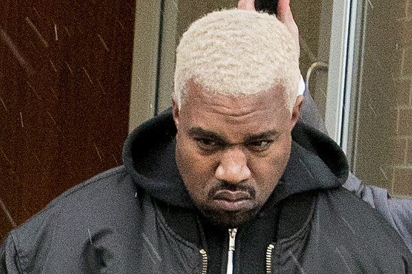 Kanye West Dyes His Hair Platinum Blond - XXL