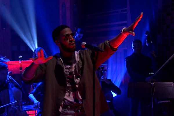 Kid Cudi Performs 'Kitchen' on 'The Tonight Show' - XXL