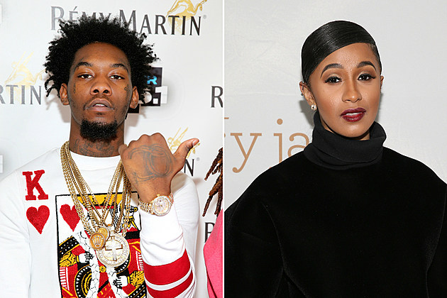 Cardi B Shows Offset Some Valentine's Day Love