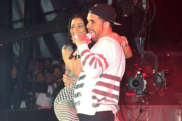Nicki Minaj and Drake Reunite - XXL