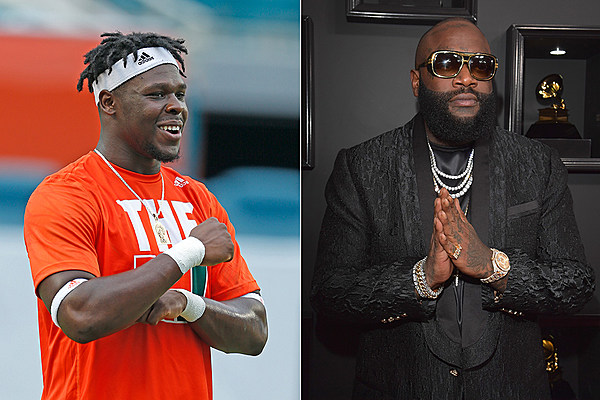 Best Of Nine Instagram >> Miami Hurricanes Defensive End Chad Thomas Produced Rick Ross' 'Apple of My Eye' - XXL