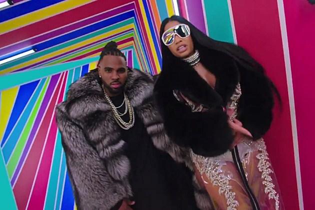 Jason Derulo estrena el videoclip 'Swalla' junto a Nicki Minaj  Ty Dolla $ign y Zendaya Thorne.