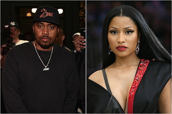 Nas Nicki Minaj 600 Zc 89 Xchris Brown Shows Pda Rumored
