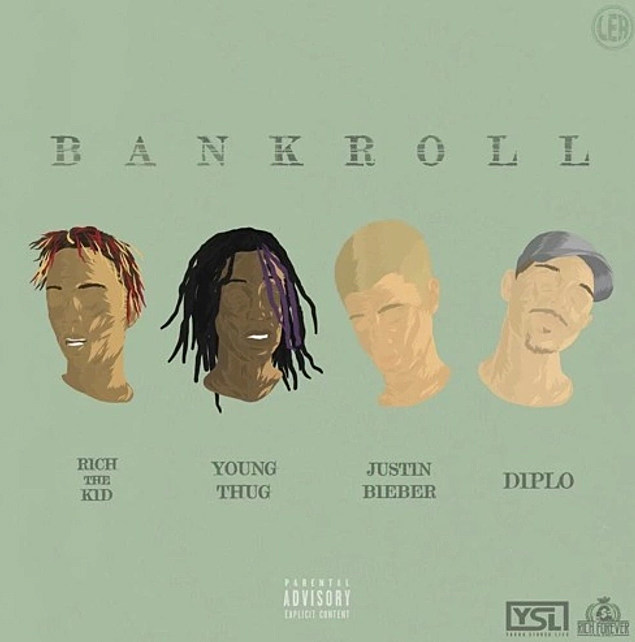 Justin Bieber turns rapper on Diplo's new song 'Bank Roll'